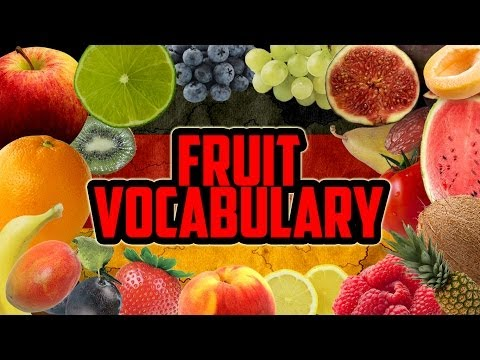 Fruit Vocabulary | Learn German for Beginners | Lesson 8