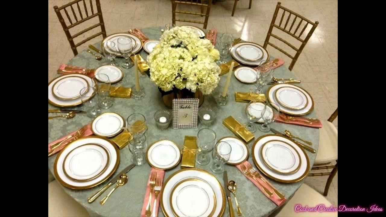 Elegant Table Settings elegant table settings - youtube