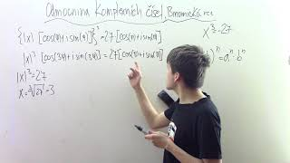 Komplexní odmocnina, binomická rovnice