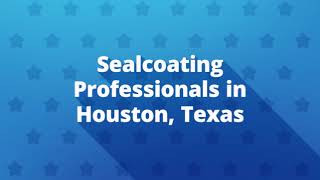 Sealcoating Service At Revitalize Parking Lot Striping in Houston, TX