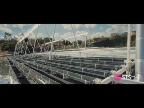STS-Med  Promo video about multi-generative solar plant located in Palermo