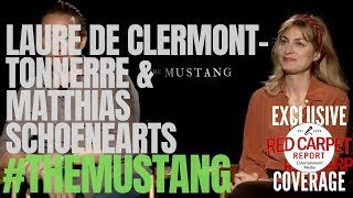 """Interview With Director Laure De Clermont-Tonnerre & Matthias Schoenearts From """"The Mustang"""" Movie"""
