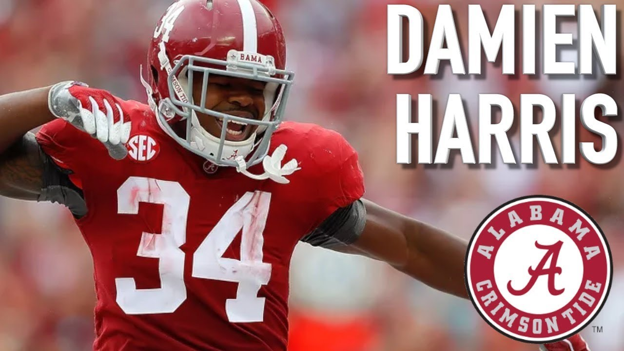 Damien Harris Official Alabama Highlights ᴴᴰ Youtube