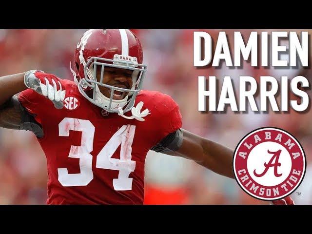 Damien Harris Official Alabama Highlights Á´´á´° Youtube