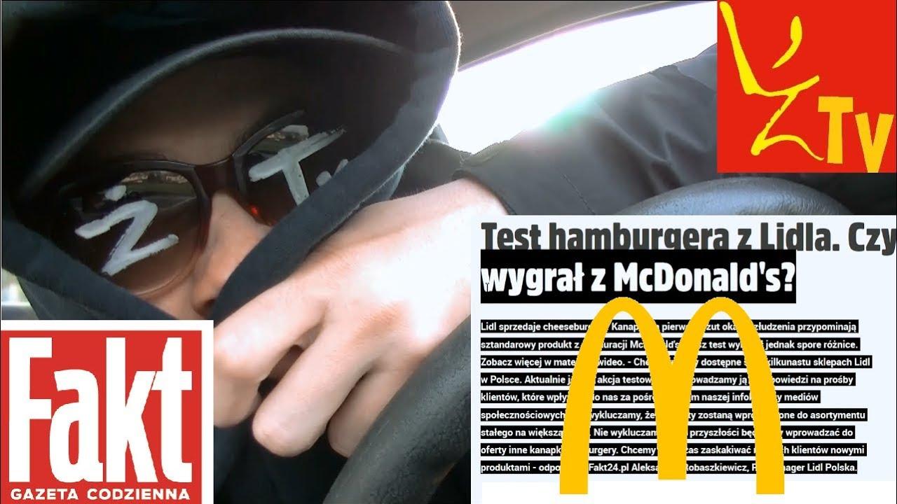 Czy FAKT pokazał CAŁĄ PRAWDĘ o nowych burgerach z Lidla?