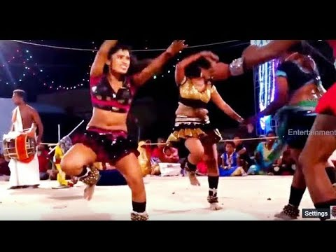 Kutti Chitra group's punch dance karakattam Video Tamil Nadu Dec 2017 HD 1080p