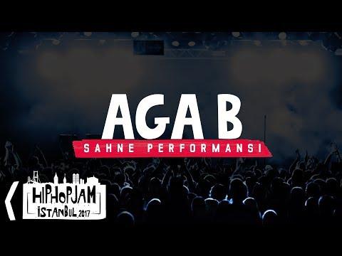 Aga B - Hip Hop Jam İstanbul 2017 @ Volkswagen Arena