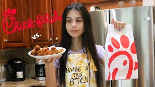 MAKING HOMEMADE CHICK-FIL-A: Baking in this B*tch Ep. 9