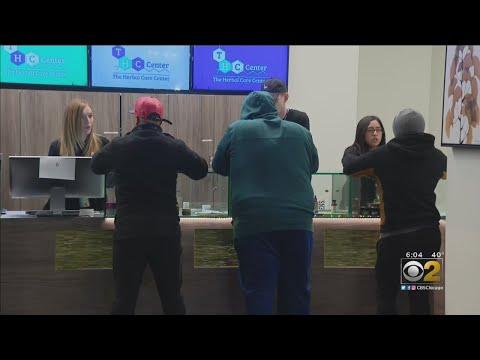 Sales Of Recreational Marijuana Are Underway In Illinois
