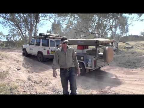 Drifta - bogged on the Finke River