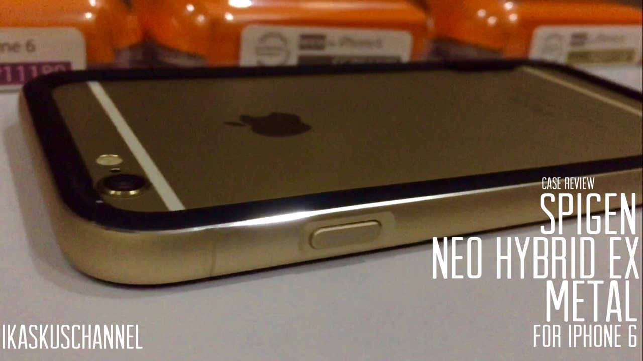 3f23abe3ed Spigen Neo Hybrid EX Metal Red, Gold & Grey iPhone 6 Case Review -  iDevice.id - YouTube
