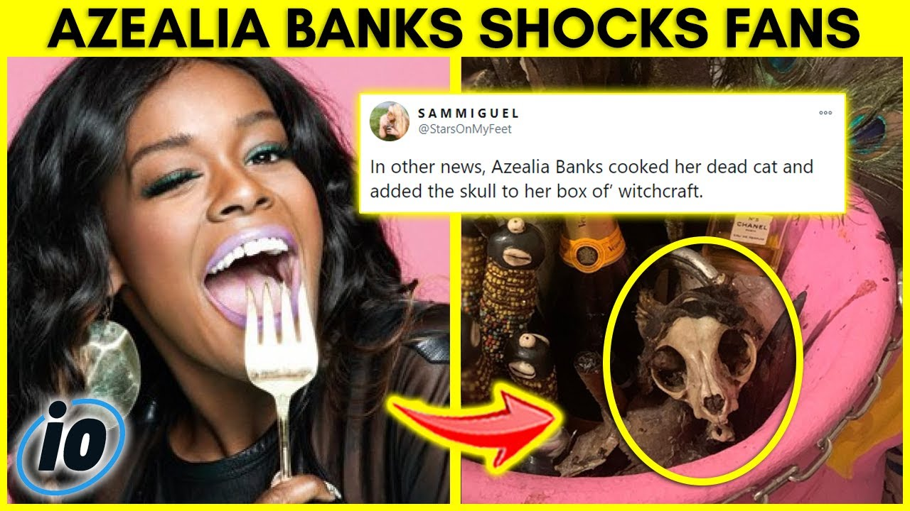 Azealia Banks Shocks Fans With Disgusting Video