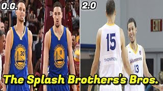 What Happened to Klay Thompson & Steph Curry's Brothers? | The Real SPLASH BROTHERS