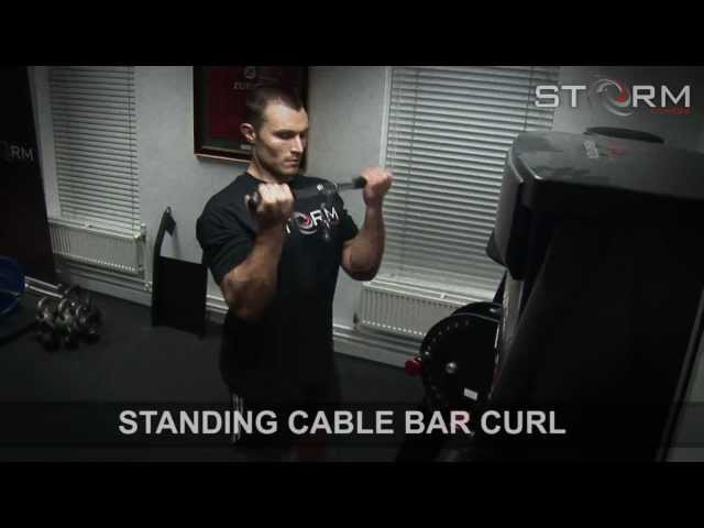 06 Standing cable bar curl.mp4
