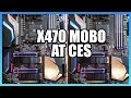 First AMD X470 Motherboard at CES: Gigabyte Gaming 7 WiFi