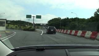 東名沼津インター 東名高速道路への進入
