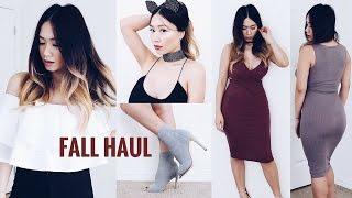 Fashion Nova Fall Haul 2016 | HAUSOFCOLOR