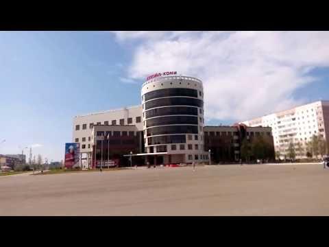 Видео-обзор на прогулке г.Усинск
