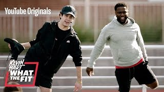 David Dobrik Sweats It Out with Kevin Hart