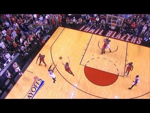 Rockets vs Blazers amazing finale : Damian Lillard's Buzzerbeater three wins the series  game 6