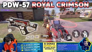 DESTROZANDO CON LA PDW-57 ROYAL CRIMSON!! COD MOBILE CALL OF DUTY MOVIL