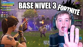 I RAISE THE BASE TO LEVEL 3 IN FORTNITE SAVE THE WORLD