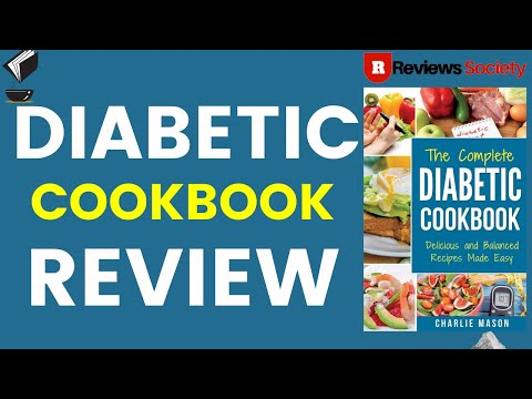 8 Best Diabetic Cookbooks Reviews   Ultimate Diabetic Cookbooks   Watch The Video and Then Buy