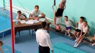 Гимнастика - Кольца (Глазов Сергей)