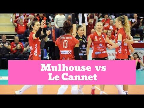 Mulhouse volley vs