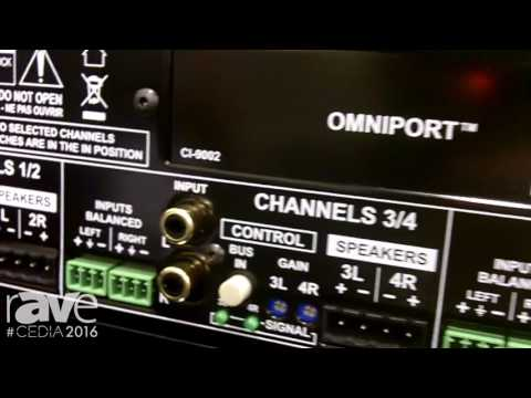 CEDIA 2016: Radial Engineering Shows Hafler 2, 6, and 8-Channel Residential Amplifiers