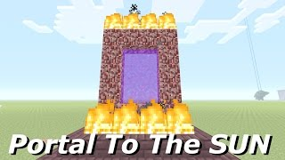 �������� ���� Minecraft: How To Make A Portal To The SUN - Minecraft Portal To The SUN!!! ������