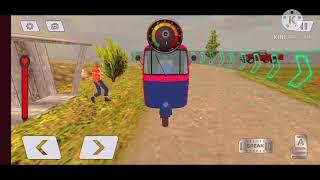 Mountain Auto Tuk Tuk Rickshaw New Games 2021 screenshot 2