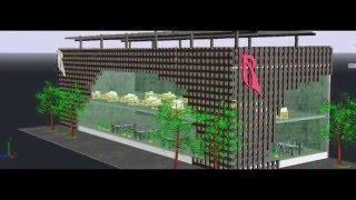 Дизайн ресторана. AutoCAD 3D(, 2016-02-28T19:02:22.000Z)