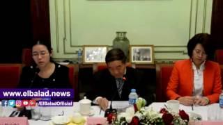سفير الصين بالقاهرة: قطعة مهمة من مصر تقع في أسيا.. فيديو وصور
