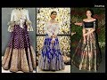 Brocade Lehenga With Shirt / Crop Top - Fashion Diaries