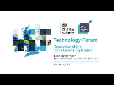 OGA OGTC Technology Forum - 2