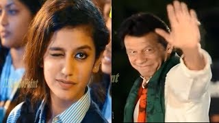 Priya Parkash Varrier VS Imran Khan PTI
