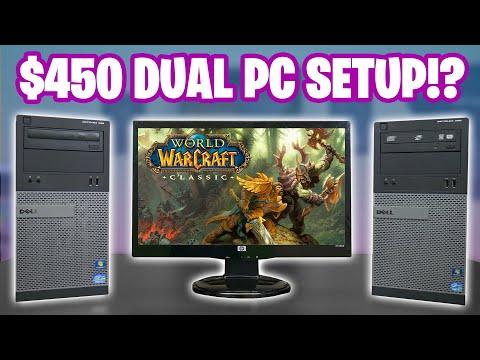 $450 DUAL PC Streaming Setup