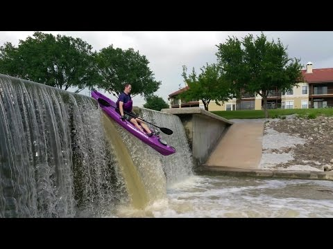 sit-on-top kayaks are awesome Dallas Adventure