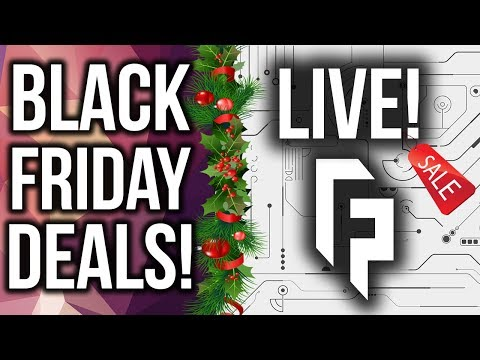 ? LIVE - Black Friday Tech Deals Stream!