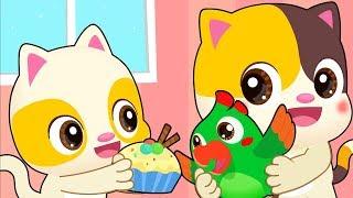 아기새를 돌보기 | 고양이 |어린이노래| 베이비버스 인기동요|BabyBus