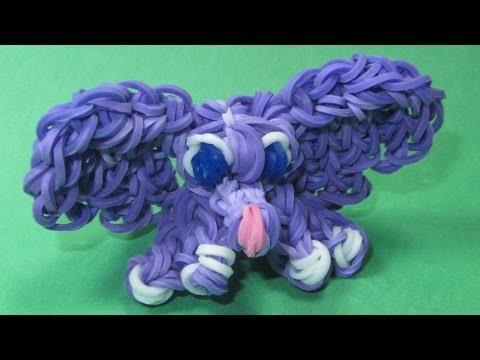 rainbow-loom:-elephant-baby-charm-(diy-mommy-animals)