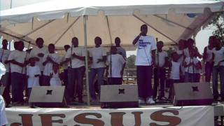"""I am sold out my mind is made up"" ....Suitland Community Gospel Fest Youth Choir"