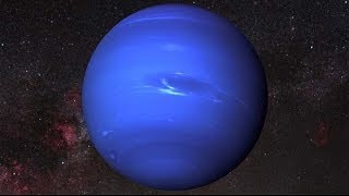 3D Planet Neptune made with After Effects CC and element 3d - space rendering, solar system