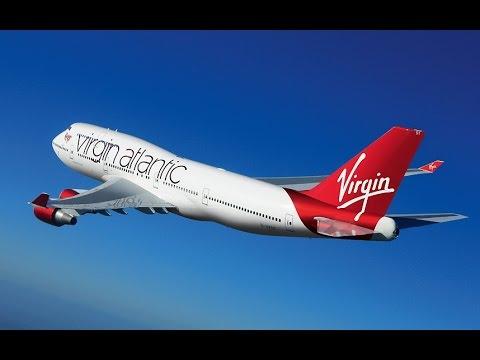 787 Dreamliner Review - Upper Class Virgin Atlantic 2017 - Business Flat Bed / Menu