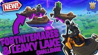FORTNITEMARES Update & Leaky Lake Event is BROKEN!!! | Fortnite Battle Royale