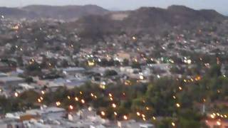 Hill looking over the city of Hermosillo