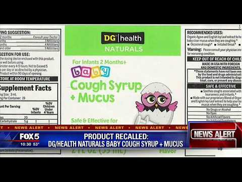Recall Alert for kids s Cough Syrup