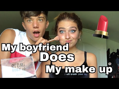 MY BOYFRIEND DOES MY MAKE UP♥️ || Marta Losito