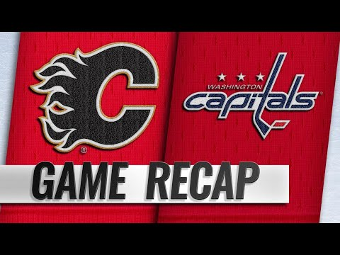 Capitals top Flames to end seven-game skid, 4-3